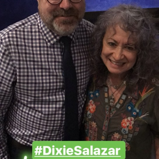 Summer Arts kickoff party: Dixie Salazar.