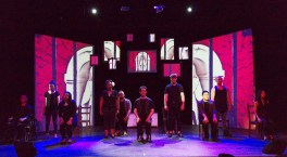 Songs as stories: The cast in 'Mama Let Me In'