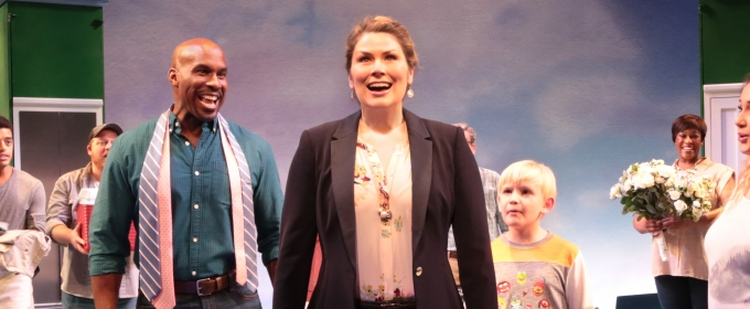 Heidi Blickenstaff onstage in 'Freaky Friday.'
