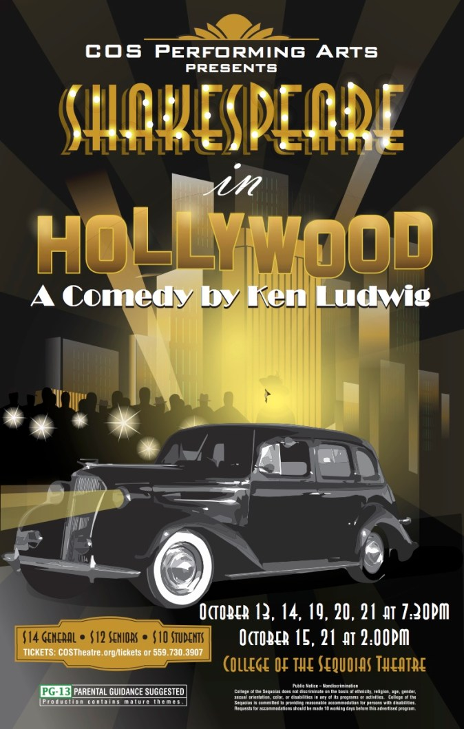Shakespeare in Hollywood Poster