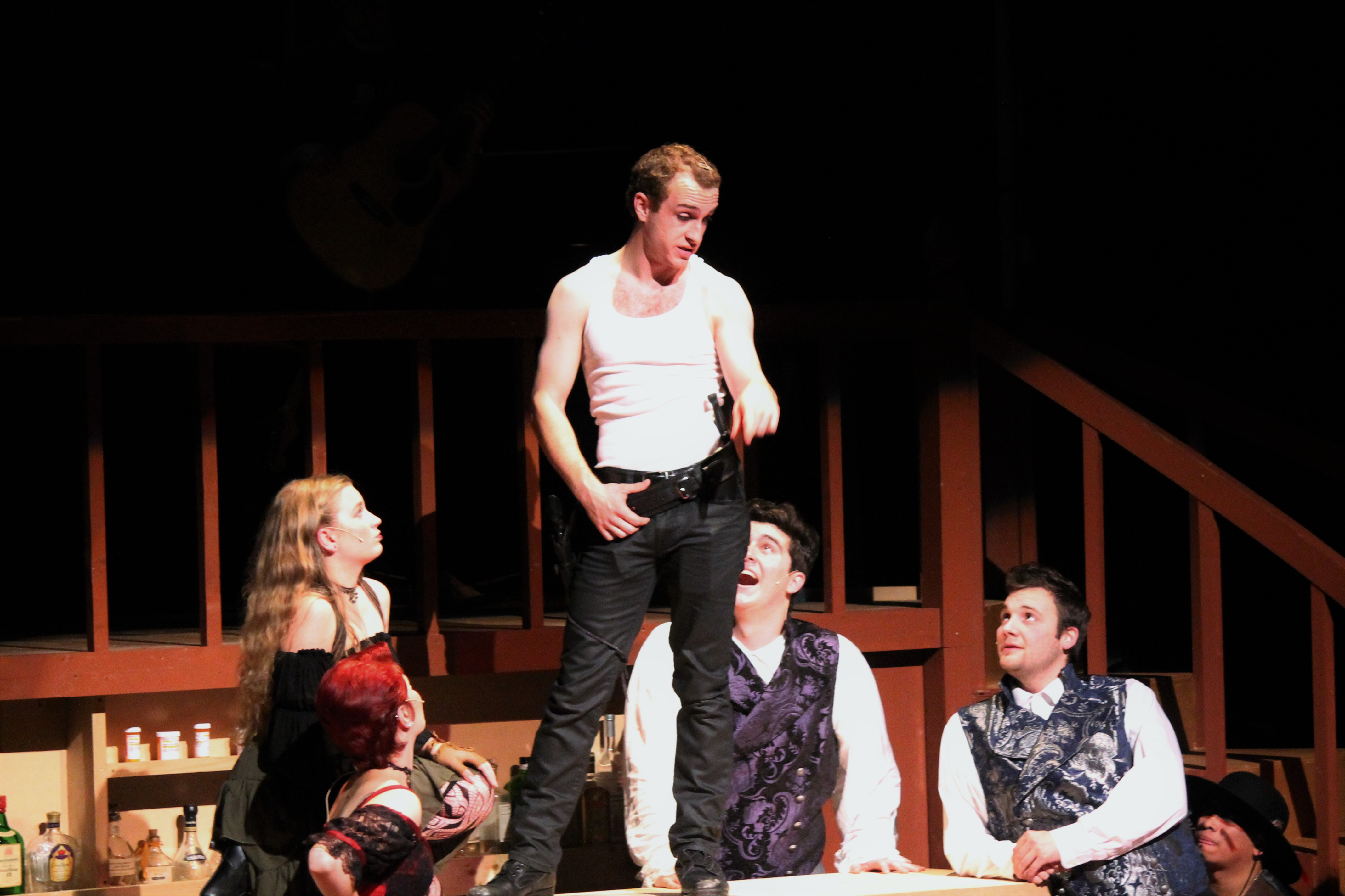 """Populism, Yea: The cast of """"Bloody Bloody Andrew Jackson."""" Photos / College of the Sequoias"""