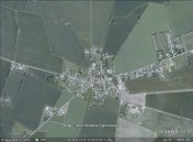 Bjerreby, Denmark aerial. From Google Earth.