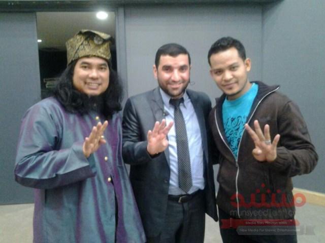 Mu'adz, Daqmie dan artis antarabangsa