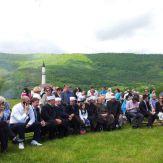 Pimpinan Islam dan Katolik bersama menanti event bermula.
