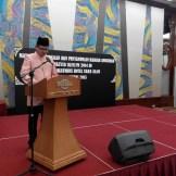 Haji Syafiq Zulakifli memulakan bacaan doa.