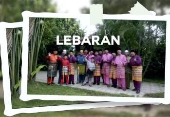 Sedutan klip video Tahmid Lebaran