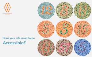 Does your site need to be accessible? - background image of Ishihara colour deficiency test