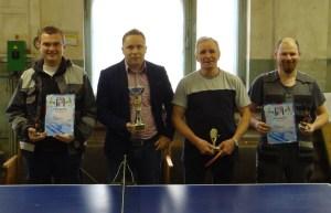 Прошли соревнования по настольному теннису среди работников МУППЭС
