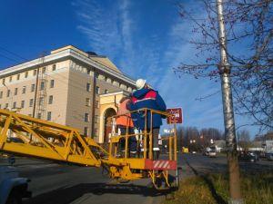 В Петрозаводске продолжают ликвидировать темные пятна