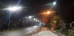 Модернизировано наружное освещение на улице Гвардейская