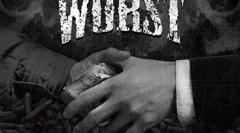 Capa do disco Instinto Ruim da banda Worst