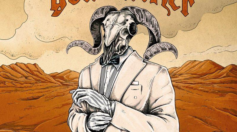 Capa do disco Hipster Fister da banda Goatfather