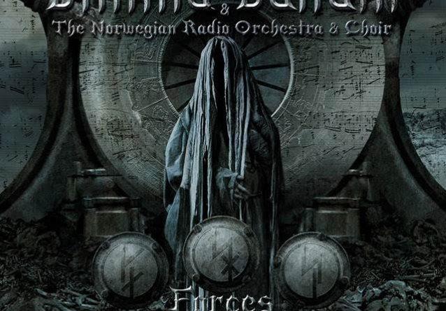 Capa do disco Forces of the Northern Night da banda Dimmu Borgir