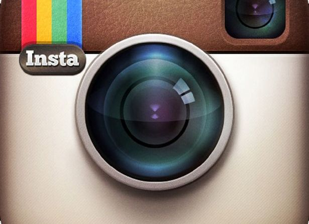 Logomarca antiga vintage do Instagram