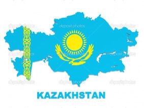 Kazakistan Bayrağı muradov.info
