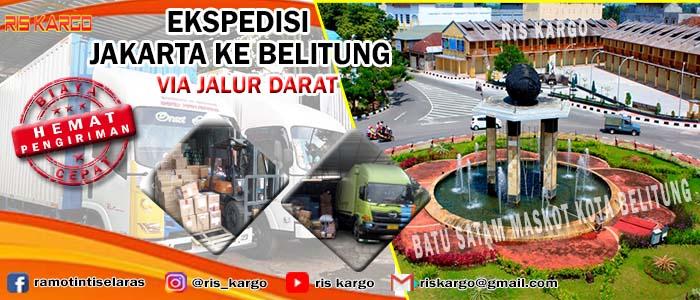 tarif ekspedisi jakarta belitung
