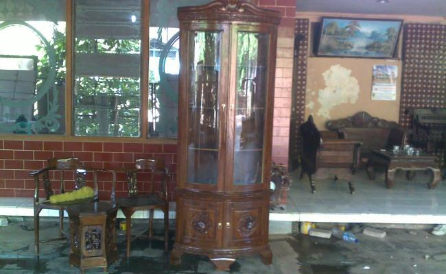 Almari Furniture Rumah Minimalis Online Murah Asli Kayu Jati