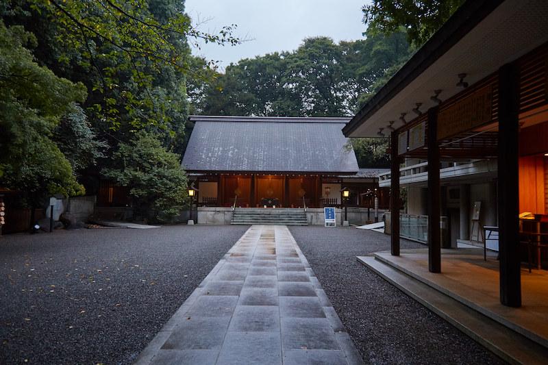 Nogi Shrine Entrance
