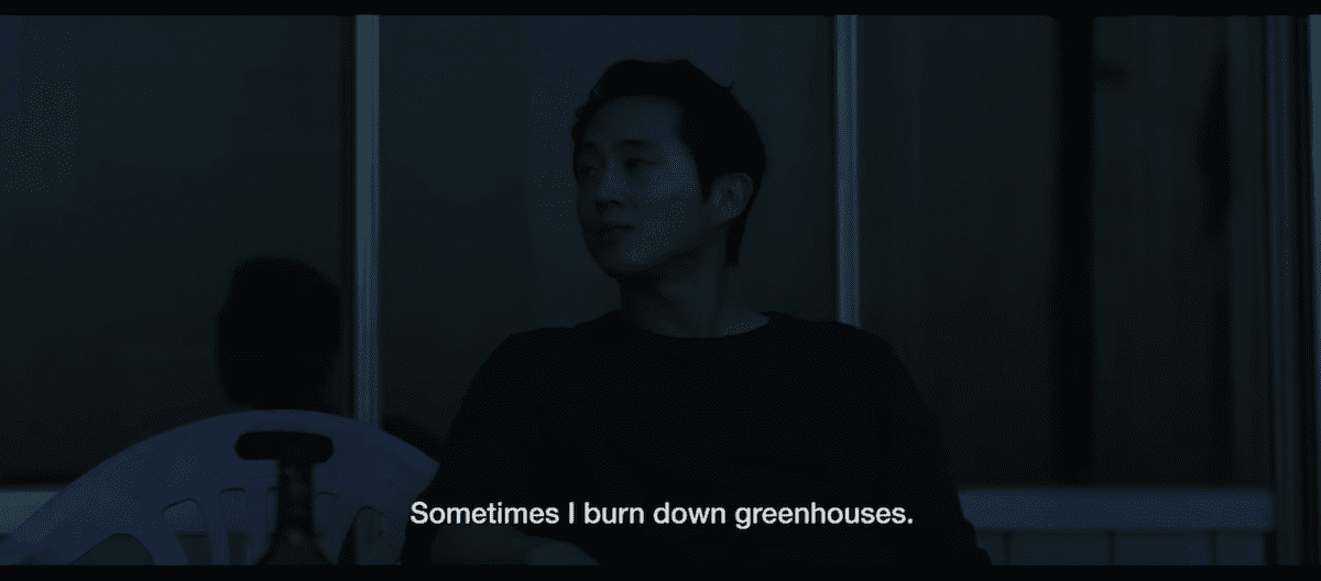 Steven Yeun Burning
