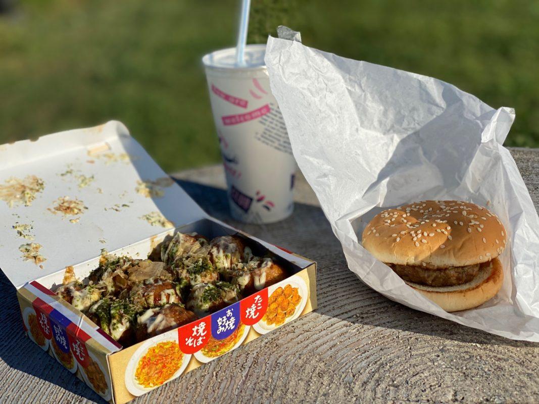 ポニー城山店のハンバーガー