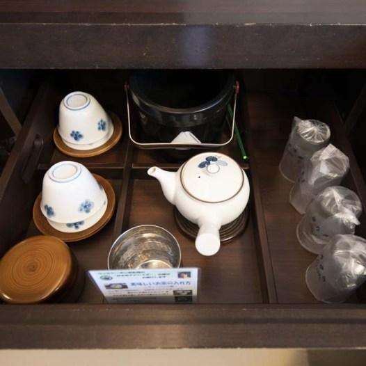 ホテル ウェルシーズン浜名湖 お茶