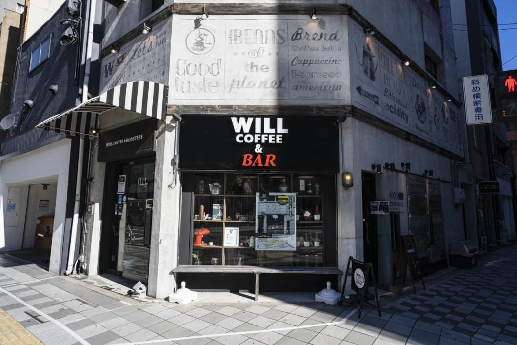 WILLCOFFEE&ROASTERの外観