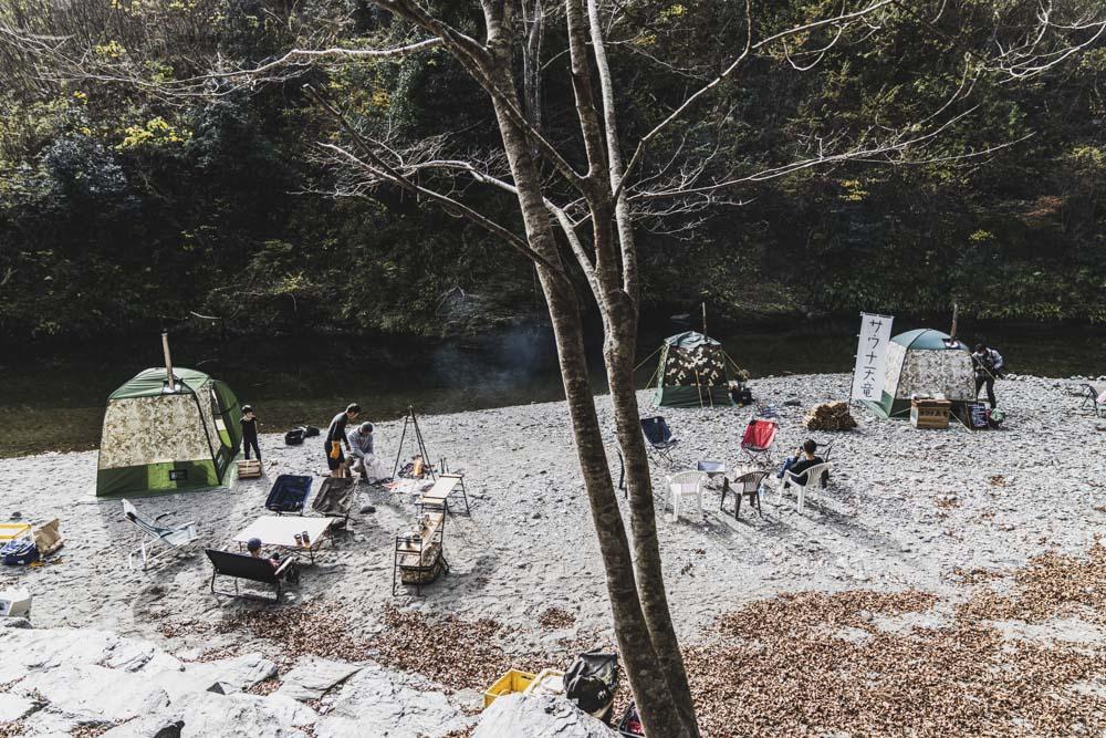 浜松のテントサウナ
