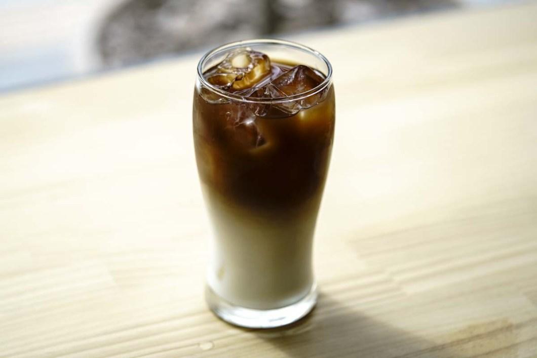 カフェやまと浜松店 アイスカフェオレ