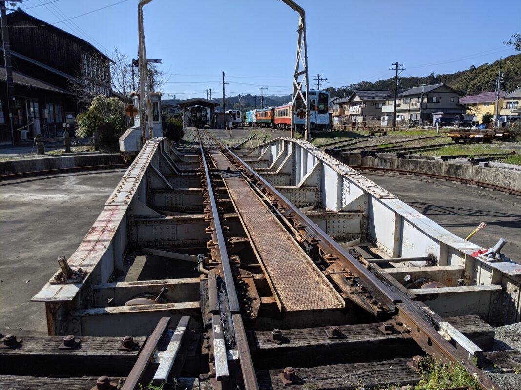 天浜線転車台