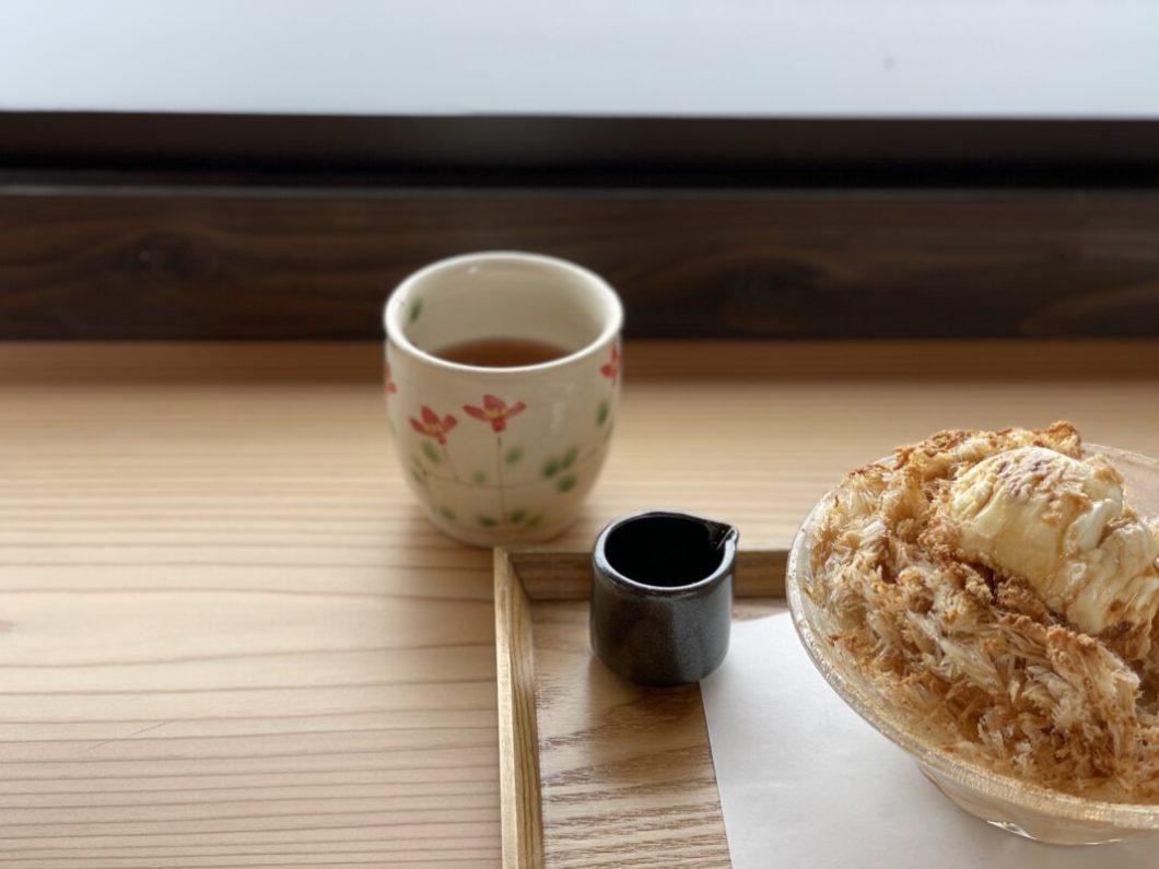 いっ福茶屋しき彩のお茶