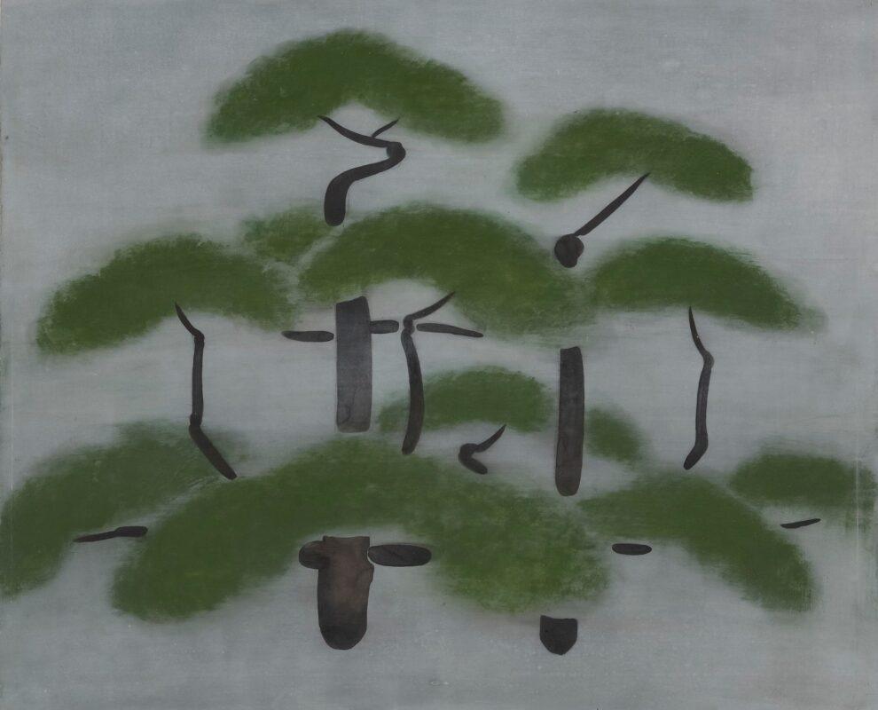 《松》 1954(昭和29)年 愛媛県美術館蔵