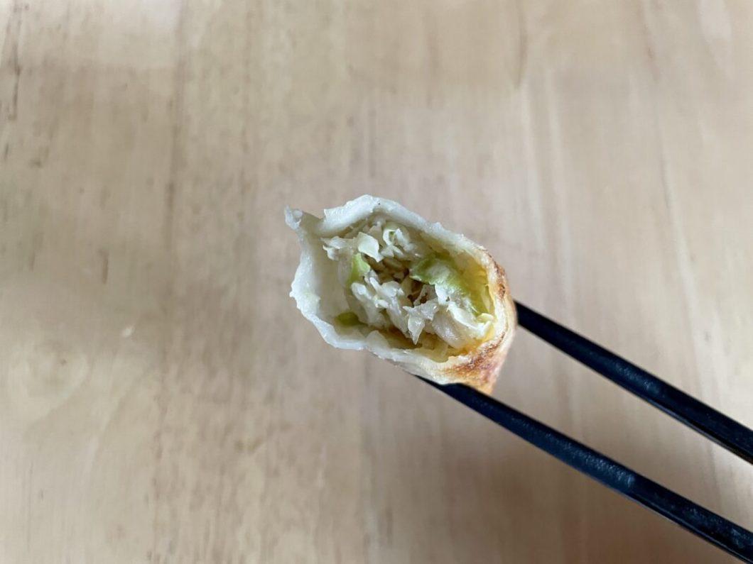 餃子専門店たつはんの焼き餃子
