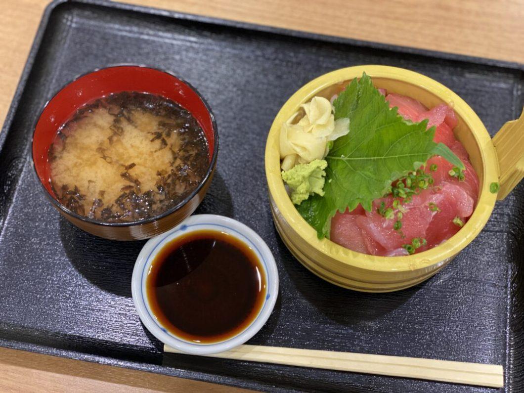 牧原鮮魚店の特選マグロ丼