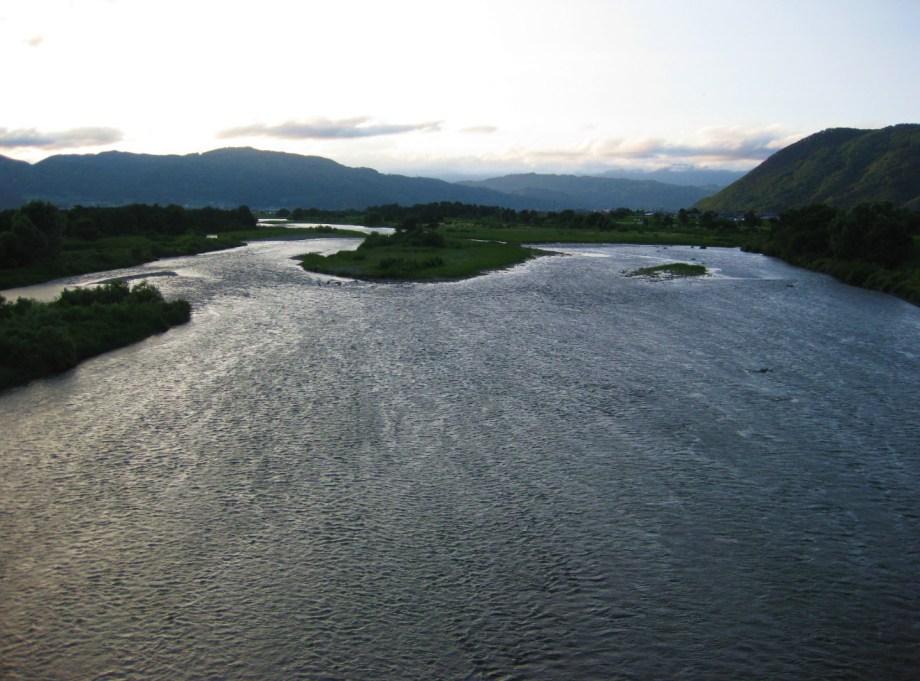 大河 千曲川