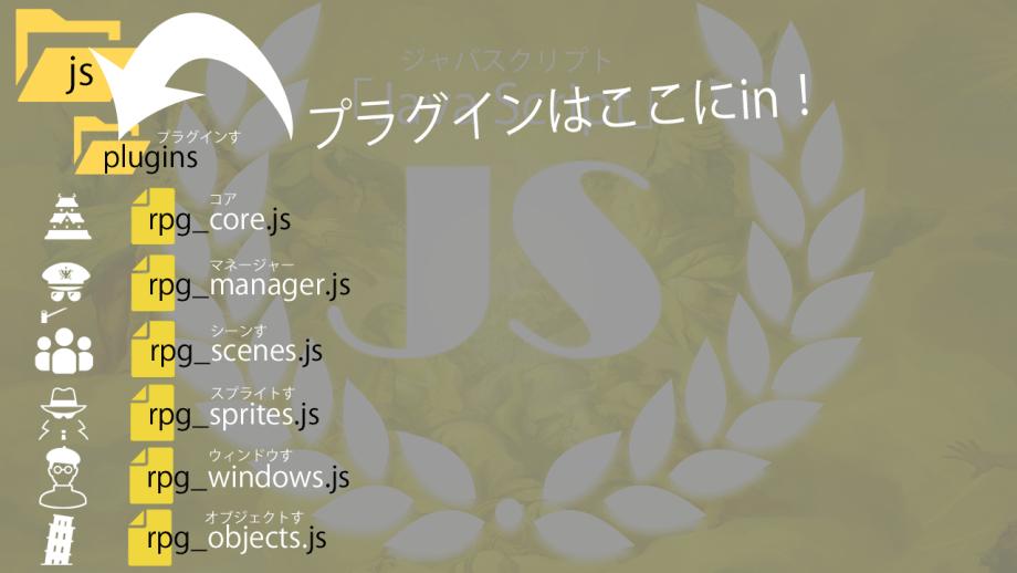 ツクールMV javaScript JS!
