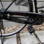 チェーンカバーがフルガードで備わっている自転車