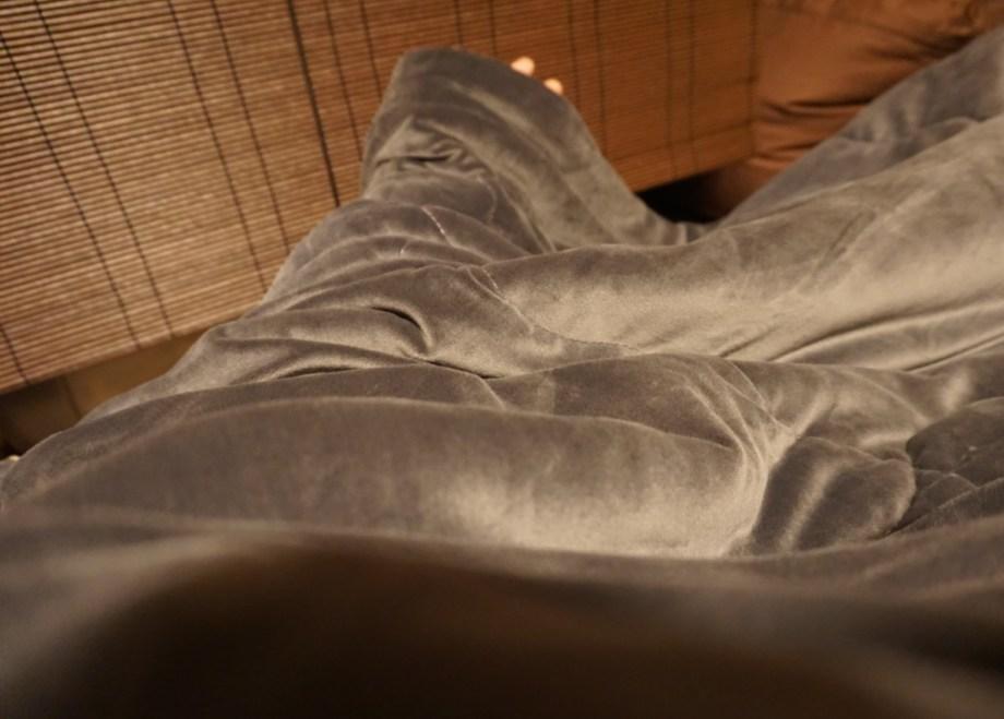「腕を動かしてもすっぽり包まれるサイズ感」-ダブルサイズのNウォーム