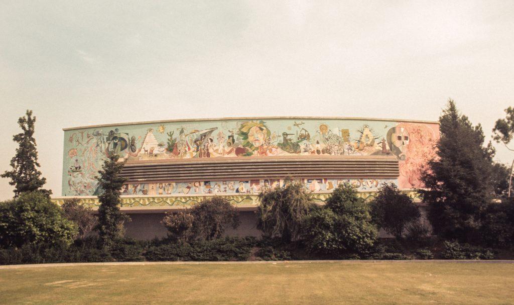 Enroll in Chicano Studies Roberto Chavezs 1970s Mural