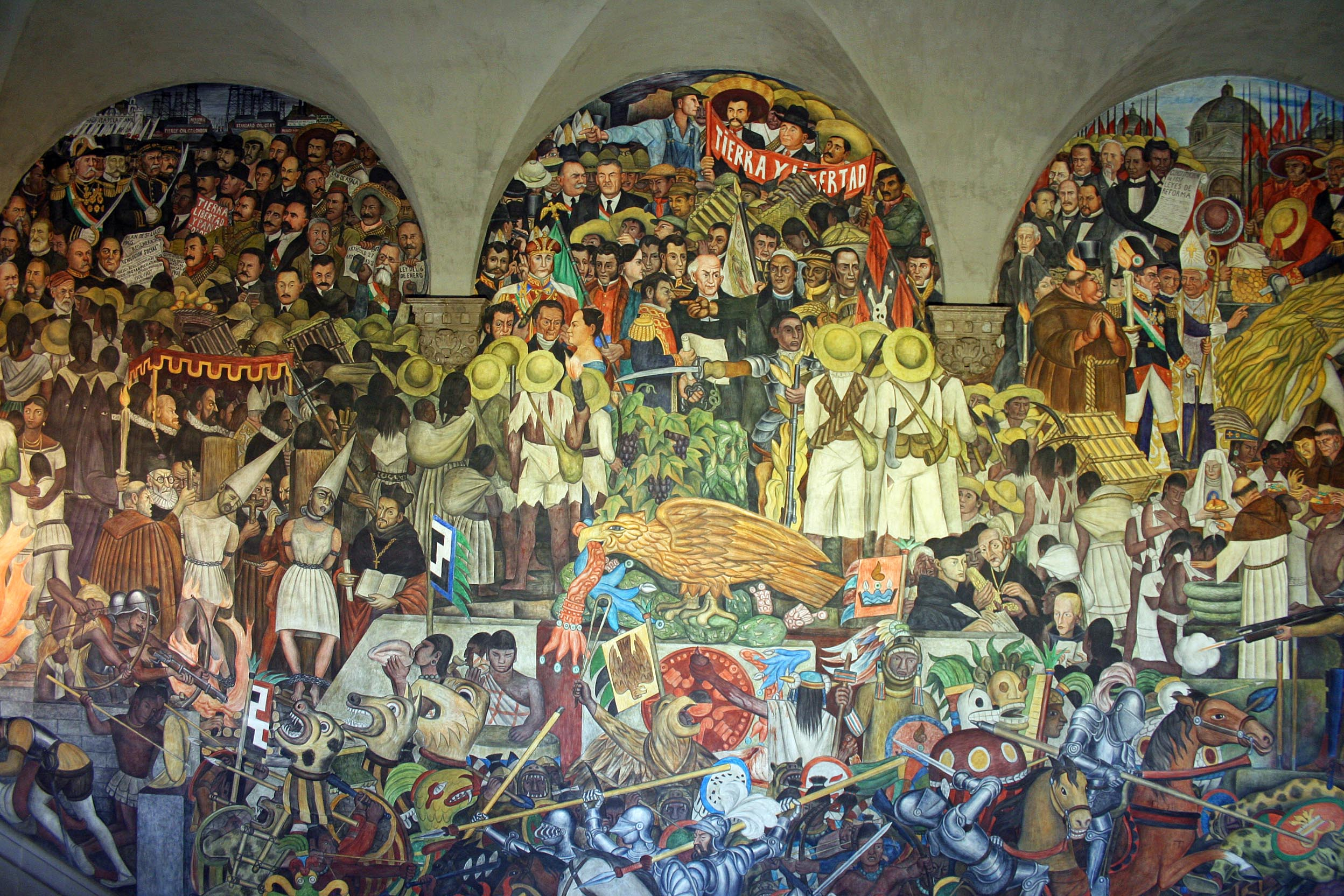 Famous mexican muralists