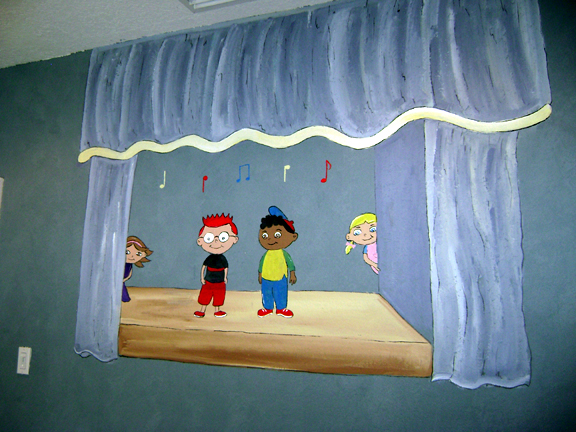 Little Einsteins MuralMural Childrens wall murals