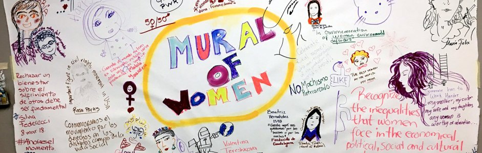 International Women's Day at Mural UDG