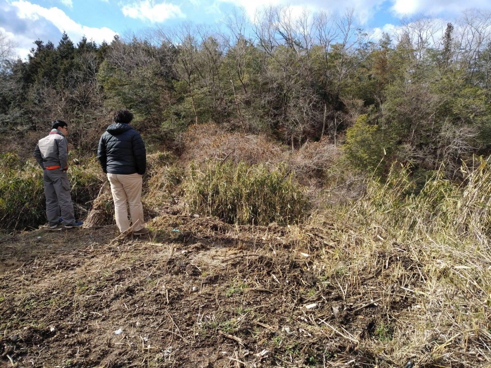耕作放棄地の視察を行いました!
