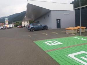Murau elektromos autó töltőhely