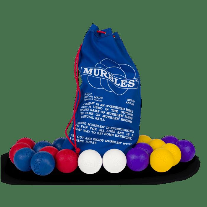 Murbles 8 Player 18 Ball Activity Set