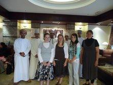 Flatclassroom members meet face to face in Doha