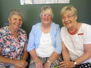Helen Newton, Mary Appleton, Anne Finlay
