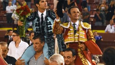 Photo of Ferrera y Cayetano abren la Puerta Grandeen la tercera corrida de Feria en Murcia