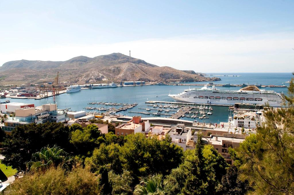 Cartagena Harbour - Murcia Bike Hire