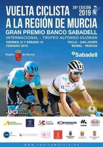 "New about the ""Vuelta de Murcia 39th Edition 2019"""