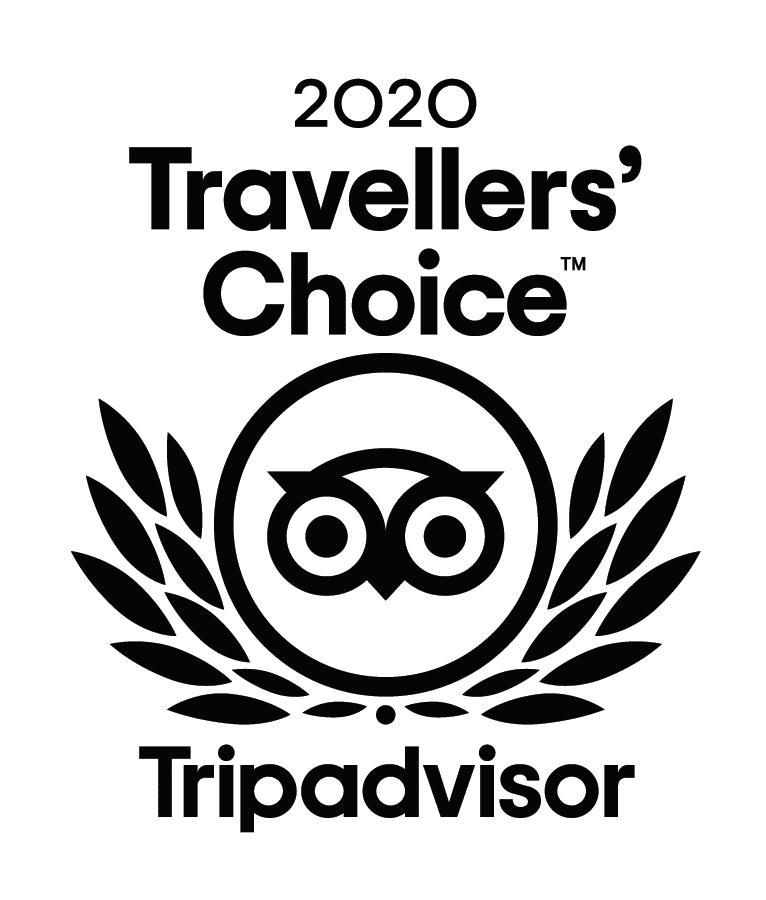 2020 TripAdvisor Travellers Choice Award